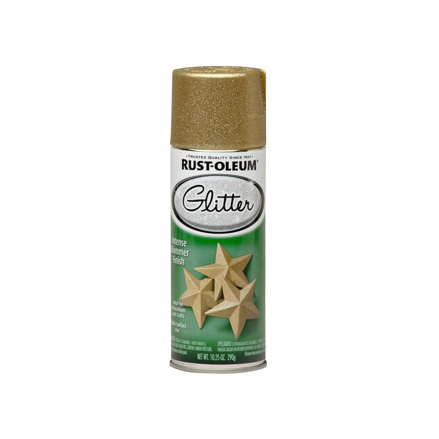 Holiday Gift Guide for the {Crafty} DIY-Lover: Rust-Oleum Gold Glitter Spray Paint