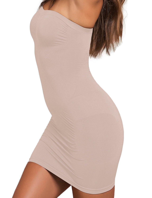 Plie 50405 Control Tube Figurformendes Miederkleid Für Damen, Shapewear, Top Qualität günstig kaufen
