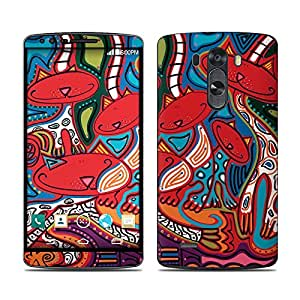 Amazon.com: Camo Cats Design Decal Skin Sticker for LG G3 D850 Cell