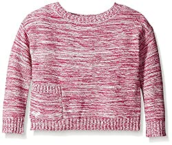 Roxy Little Girls' Lit Roasted Sweater, Festival Fushion, 6X