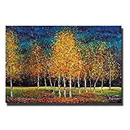 Evening Grove by Melissa Graves-Brown Premium Gallery-Wrapped Canvas Giclee Art (Ready to Hang)