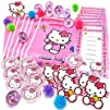 Amscan Hello Kitty Party Favors Value Pack 48-Piece
