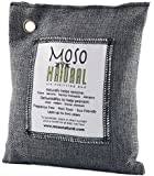 Moso Natural Air Purifying Bag 200g. Naturally Removes Odors, Allergens and Harmful Pollutants. Prevents Mold, Mildew and Bacteria From Forming By Absorbing Excess Moisture. Fragrance Free, Chemical Free and Non Toxic. Reuse For Up To Two Years