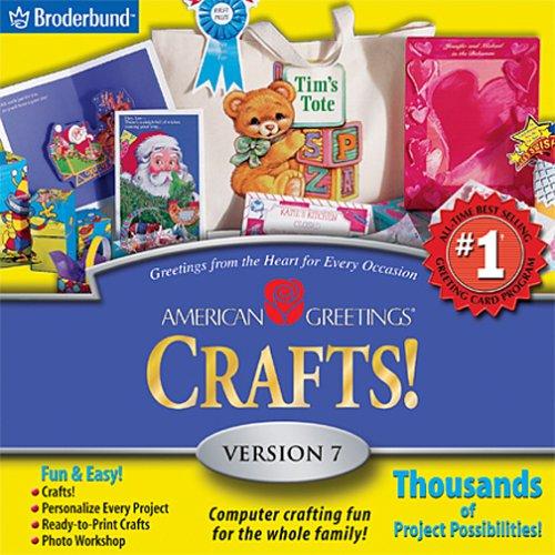American Greetings CreataCard Crafts 7 Jewel CaseB00006IS7P