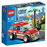 Lego 60001 City Fireman Chief Fire Emergency Car Minifigure Accessories New 5-12 Good Gift To Your Lovely Fast...