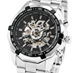 ESS Men's Black Bezel Skeleton Dial S...