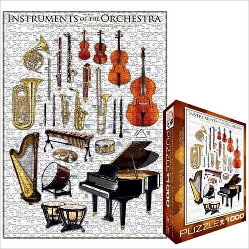 Instruments of the Orchestra Jigsaw Puzzle 1000pc