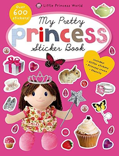 My Pretty Princess Sticker Book (Princess World) front-712503