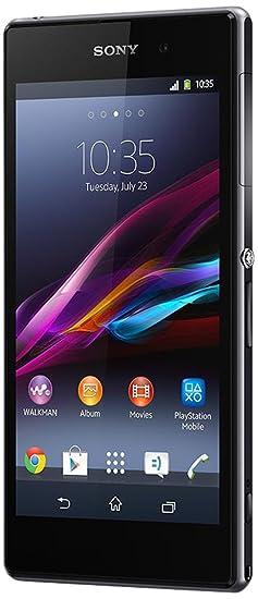 Sony Xperia Z1 Smartphone débloqué (Ecran: 5 pouces - 16 Go) Noir (import Italie)