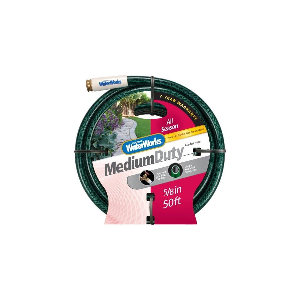 Colorite All Season WW4058050 Medium Duty 5/8 Inch x 50 Foot Green Garden Hose