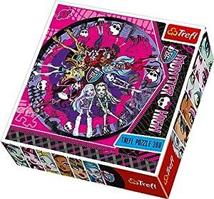 Trefl Round-Puzzle Terrible Fashion Show Mattel Monster High (150 Pieces)