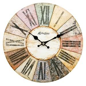 Horloge Murale Moderne Multicolore - Design Contemporain