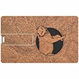 Cat Credit Card 8GB Pen Drive