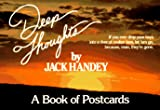 Deep Thoughts: A Book of Postcards (0836232062) by Handey, Jack