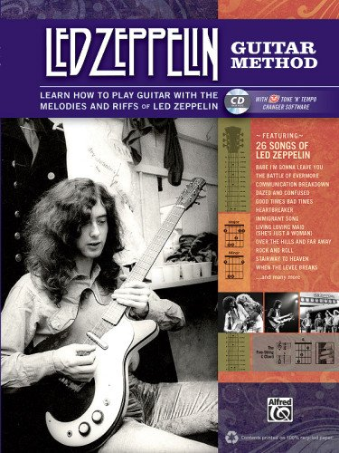 Led Zeppelin Guitar Method: Immerse Yourself in the Music and Mythology of Led Zeppelin as You Learn to Play Guitar