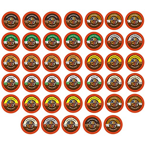 40-count Crazy Cups Seasonal Premium Hot Chocolate Single Serve Cups for Keurig K Cup Brewers Variety Pack Sampler (Keurig Hot Chocolate Sampler compare prices)