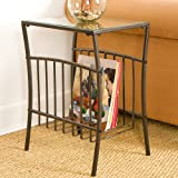 Holly & Martin Shiloh Metal Magazine Table