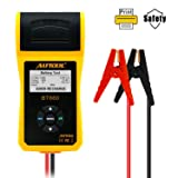 AUTOOL BT660 CCA 100-3000 12V/24V Battery Load Tester, Car Cranking and Charging System Analyzer Scan Tool with Printer for Heavy Duty Trucks, Cars, Motorcycles, Boats (Tamaño: BT660)