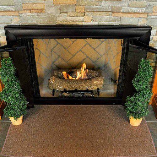 Distance From Fireplace To Rug: Fireproof Hearth Rugs, Don't Burn Down The House! : Funk