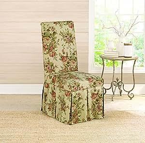 Amazon.com: Surefit Bridgewater Floral Waverly Dining Room ...