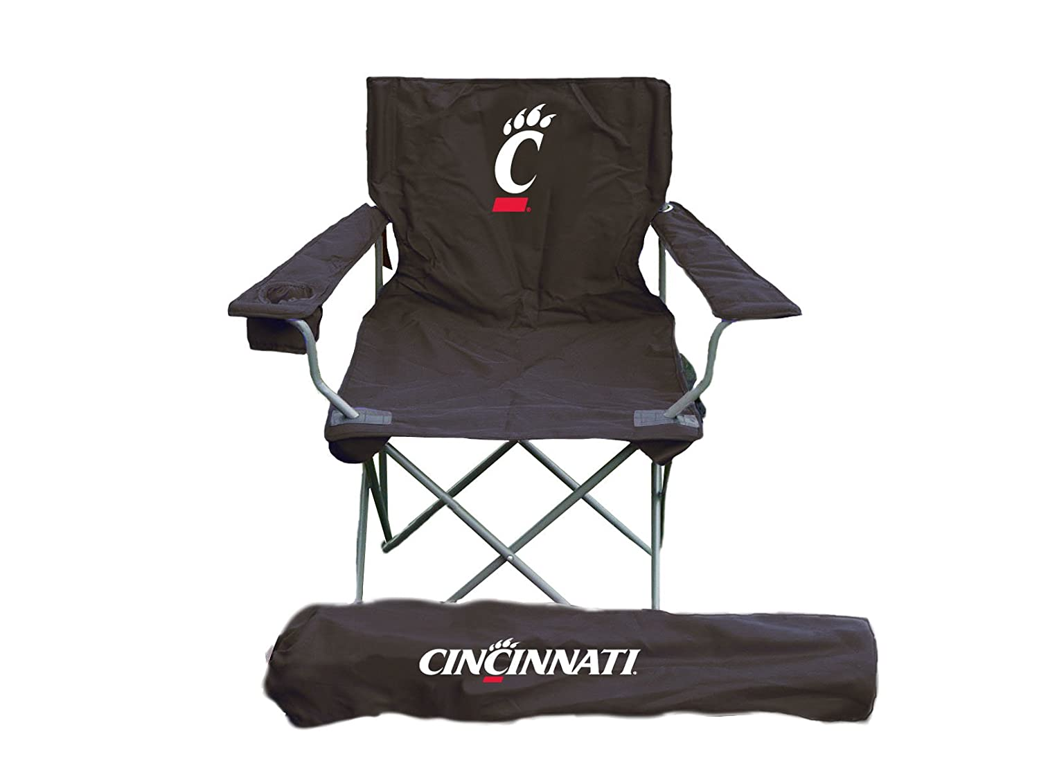 Rivalry NCAA Cincinnati Bearcats Folding Chair With Bag