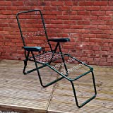 Alfresia Garden Sun Lounger Chair Frame in Green