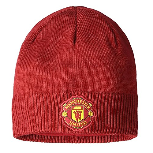 Manchester United Adidas Beanie Hat 2016-17 (Manchester United Beanie Hat compare prices)