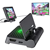 Switch HDMI TV Adapter Dock Station for Nintendo Switch, OIVO TV HDMI Adapter Upgraded Folding Stand for Nintendo Switch