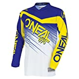 O'Neal Unisex-Youth Element Racewear Jersey (Blue/Yellow, Youth X-Large)