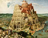 PIETER BRUEGEL The ELDER The Tower of Babel c1563 * 250gsm Gloss ART CARD A3 Reproduction Poster