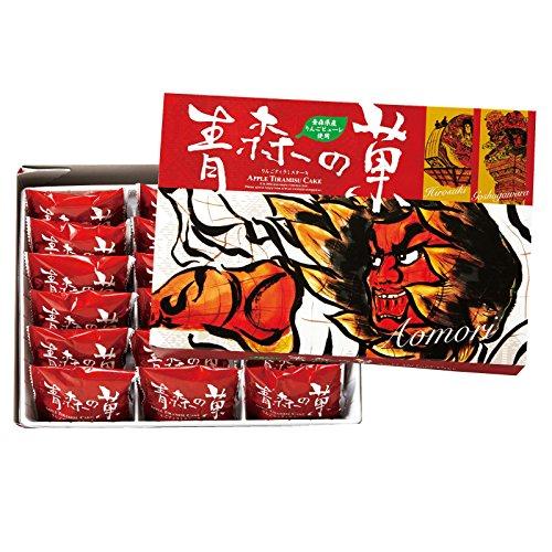 [青森お土産] 青森の菓 りんごティラミスケーキ (日本 国内 青森 土産)