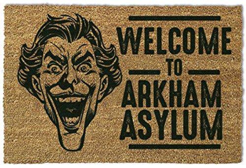 Batman - The Joker, Welcome To Arkham Asylum Zerbino (60 x 40cm)