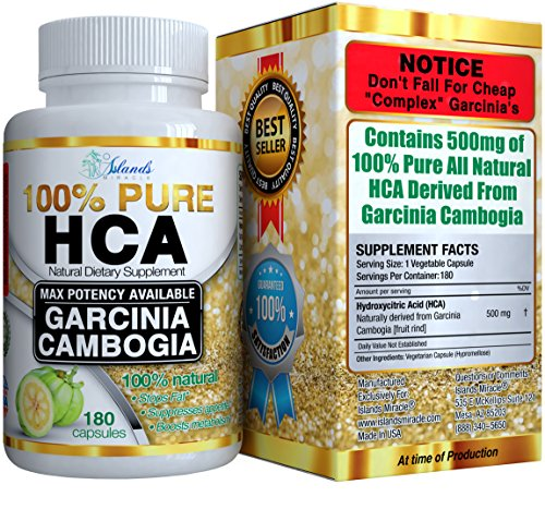 Garcinia Cambogia Extract PURE HCA EXTREME Instant Acting Slim Formula Plus Appetite Suppressant Premium 100% All Natural Diet Pills That Work Fast For Women & Men To Lose Weight (Pure Hca Extract Naturabest compare prices)