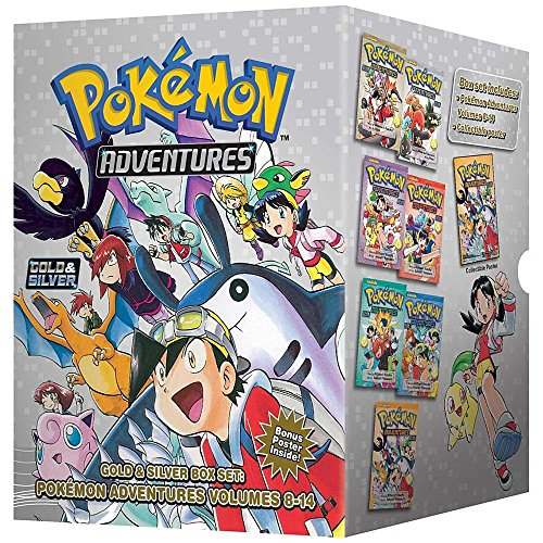 POKEMON ADVENTURES GN BOX SET VOL 02 GOLD SILVER (Pokémon)