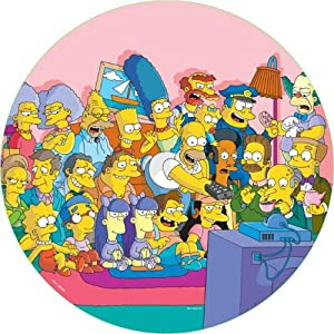 Susan Prescot Games - At Home With Simpsons 500 Piece Jigsaw Puzzle