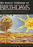 The Secret Language of Birthdays (reissue) (0670032611) by Goldschneider, Gary