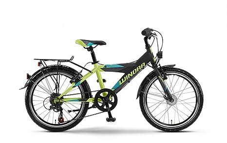 Winora Speedy Y - Vélo enfant - bleu/noir 2015