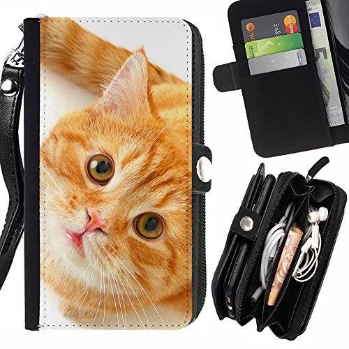 laustart-orange-american-shorthair-katze-samsung-galaxy-express-2-g3815-express-ii-flip-credit-card-