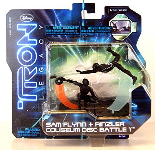Tron Legacy Series 1 Exclusive Figure 2Pack Sam Flynn Rinzler Coliseum Disc Battle 1