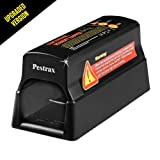 Electronic Mouse Trap / Automatic Rodent Zapper Perfect for Rats, Mice, Squirrels and Rodents Using Humane Exterminating - Best Pest Control / Repellent Eliminator | Upgraded Version - by Pestrax (Tamaño: 1 Pack)