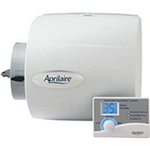 Aprilaire 500 Humidifier, Whole-House, Bypass, 24V with Digital Control