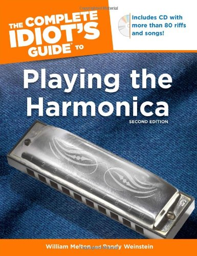 The Complete Idiot'S Guide To Playing The Harmonica, 2Nd Edition front-822881