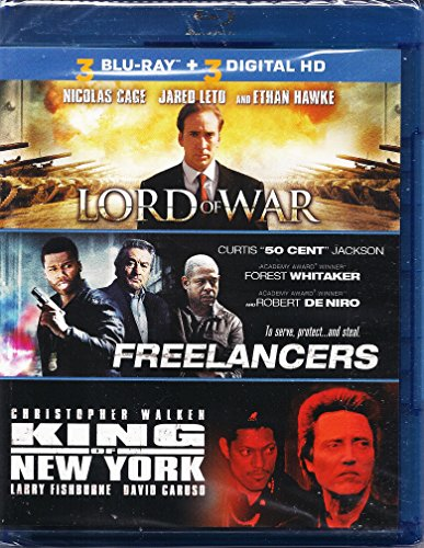 3 Blu-Ray Movie Collection Lord of War, Freelancers, King of New York (King Of New York Movie compare prices)