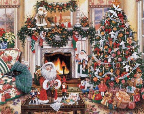 61JTEn6m4VL Cheap Price White Mountain Puzzles Cozy Christmas