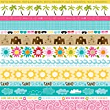 Bella Blvd Sand & Surf Borders Paper