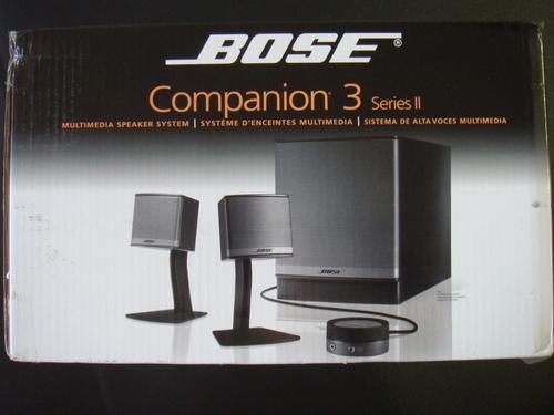 Amazon Com  Bose Companion 3 Series Ii Multimedia Speaker
