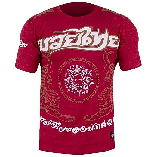 Hayabusa Men's Muay Thai T-Shirt Small Red