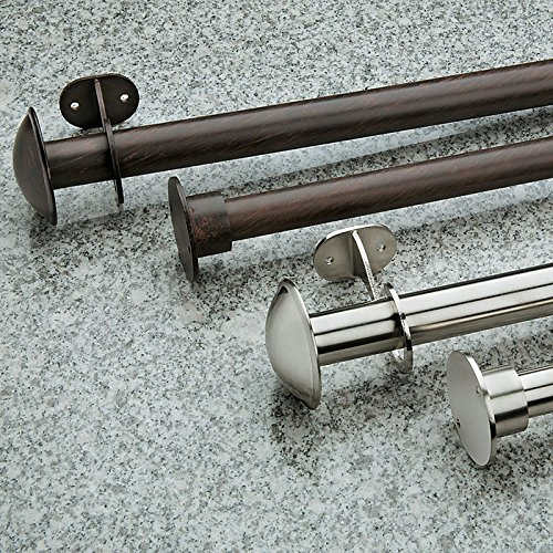 Outdoor Curtain Rod 52 100 Stainless Steel New Garden