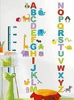 Ambiance Sticker Vinilo Decorativo Alphabet And Animals (Kidmeter)