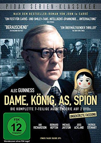 Dame, König, As, Spion (Tinker, Tailor, Soldier, Spy) / Der komplette 7-Teiler nach dem Bestseller von John le Carré (Pidax Serien-Klassiker) [2 DVDs]